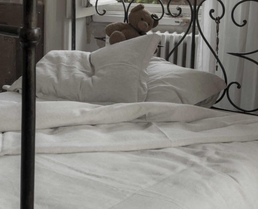 sacco copripiumino singolo matrimoniale set lenzuola in lino con 2 federe | Biancheria letto in LINO | COPRIPIUMINI in Lino