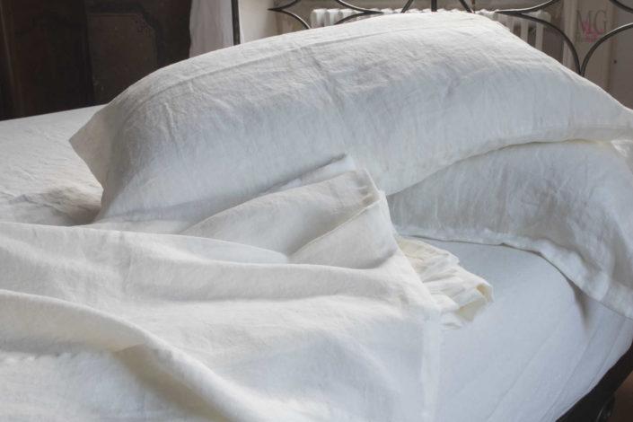 biancheria letto lenzuola in lino vendita online