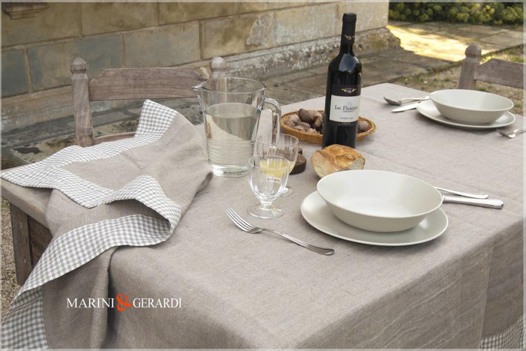 Pure Linen Nashville Country Tablecloths 01