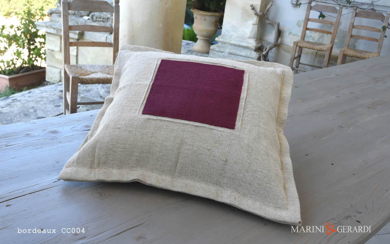 Cushions Covers Boutique Yute Bedroom Bordeaux CC004