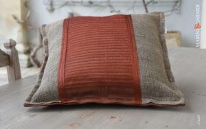 Cushions Covers Linguine Rust Yute Organdie