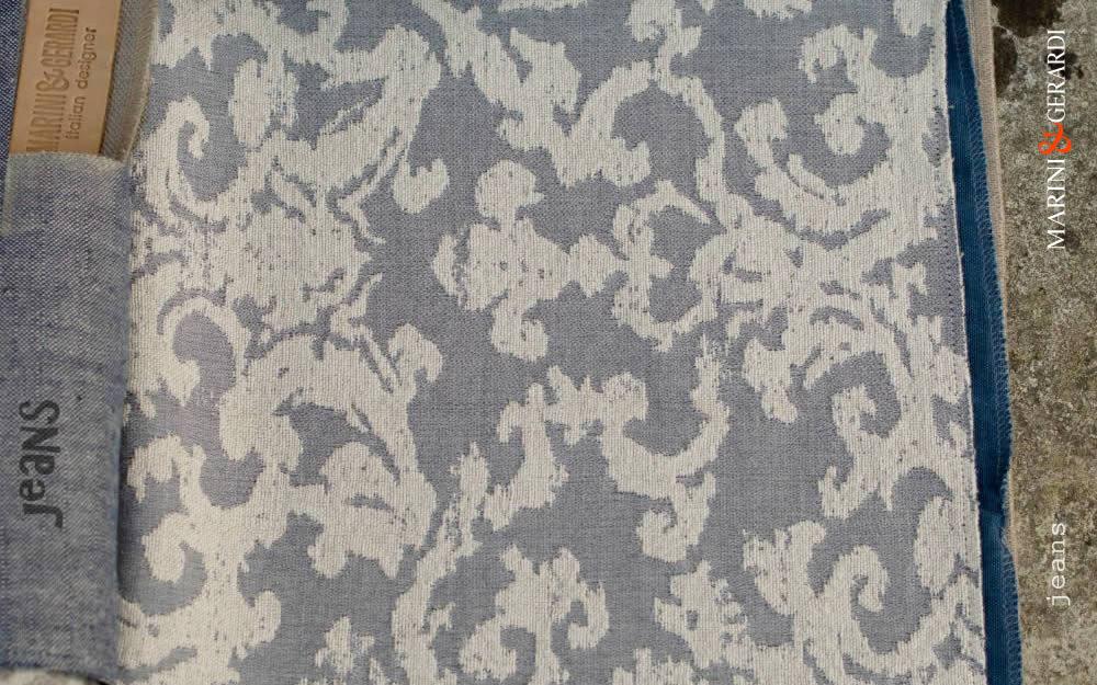 Linen Cotton Cushions Covers Jacquard Jeans