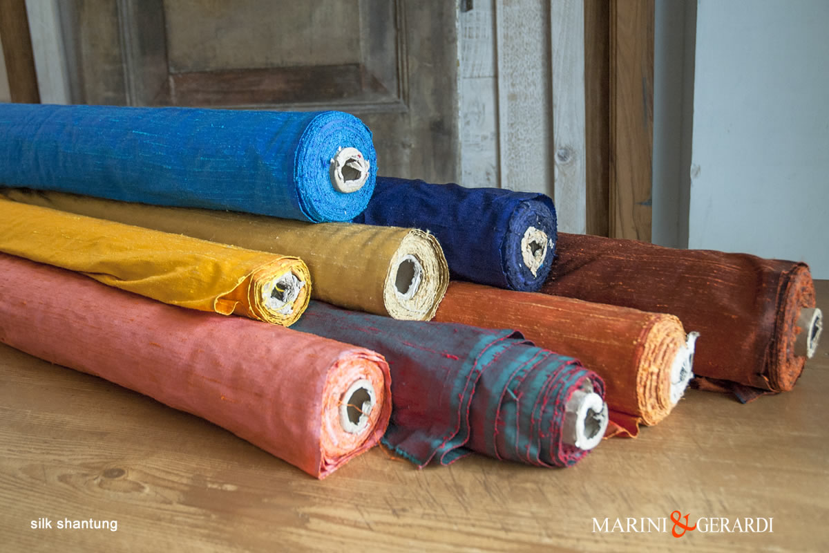 Shantung Silk Fabric Colours