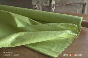 Silk Shantung Fabric Pistachio AC119