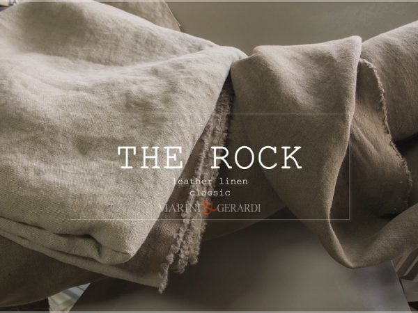 The Rock Leather Linen Fabric Classic For Upholstery Curtains