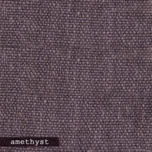 Upholstery Leather Linen Amethyst
