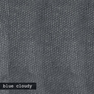 Upholstery Leather Linen Blue Cloudy