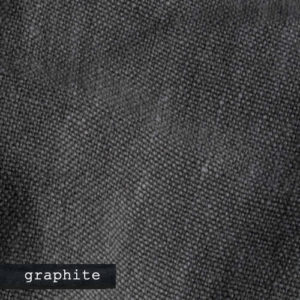 Upholstery Leather Linen Graphite