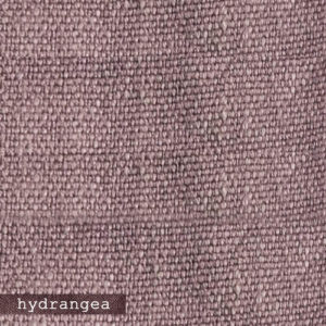 Upholstery Leather Linen Hydrangea