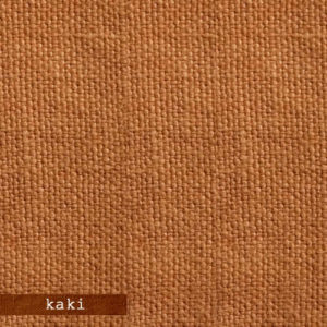 Upholstery Leather Linen Kaki