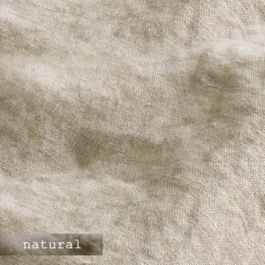 Upholstery Leather Linen Natural