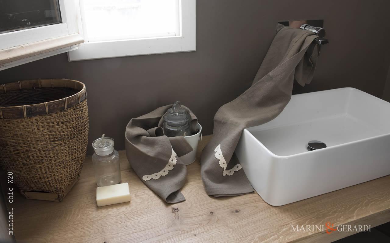 Bath Linen Set Towel Embrodery Applications X20