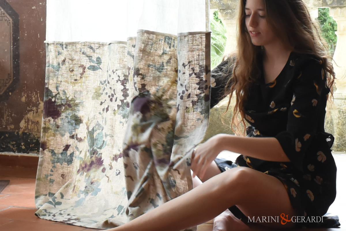 luxury Design Linen curtain styles Flowers Isla Margarita 06