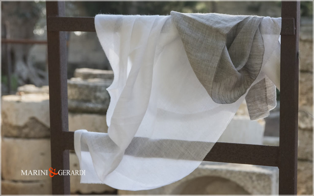 Cloud Flax Nature Linen Fabrics Optical White