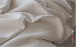 Sofa Upholstery Italian Linen Fabric Chalk AA Colors
