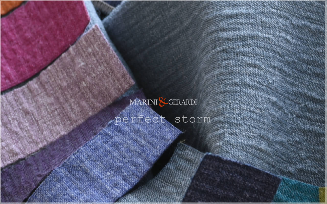 Sofa Upholstery Linen Fabric By Metre Italian Perfect Storm