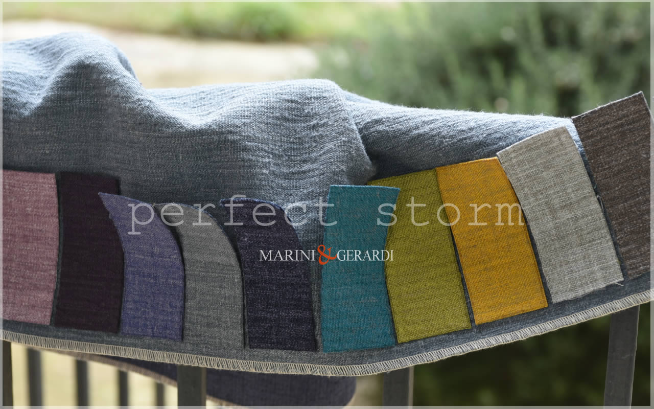 Upholstery Linen Fabric Textiles By Metre For Sofa Perfect Storm