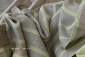 Italian Linen Fabrics For Curtains Yellow Canary