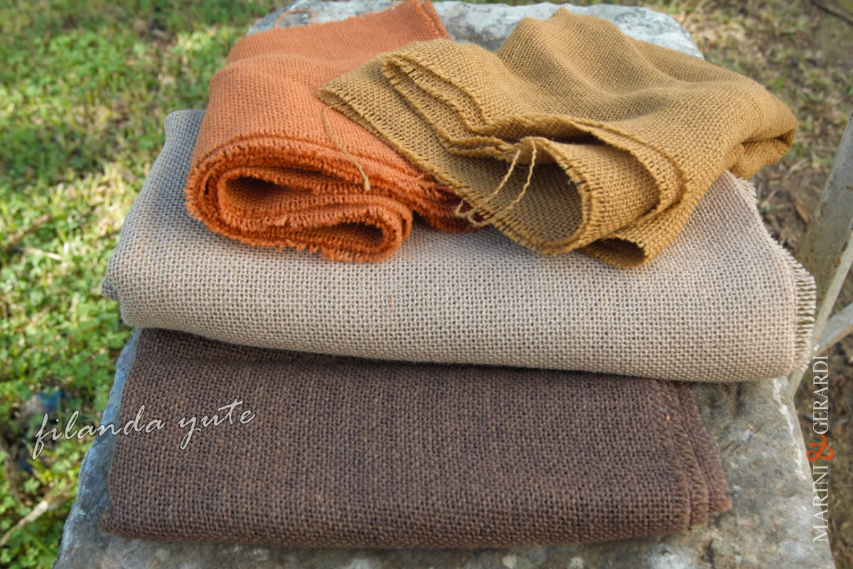 Italian Yute Soft Fabrics Filanda Nature Color