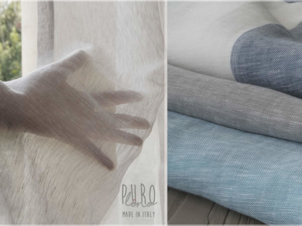 Best Pure Linen For Curtains Made In Italy