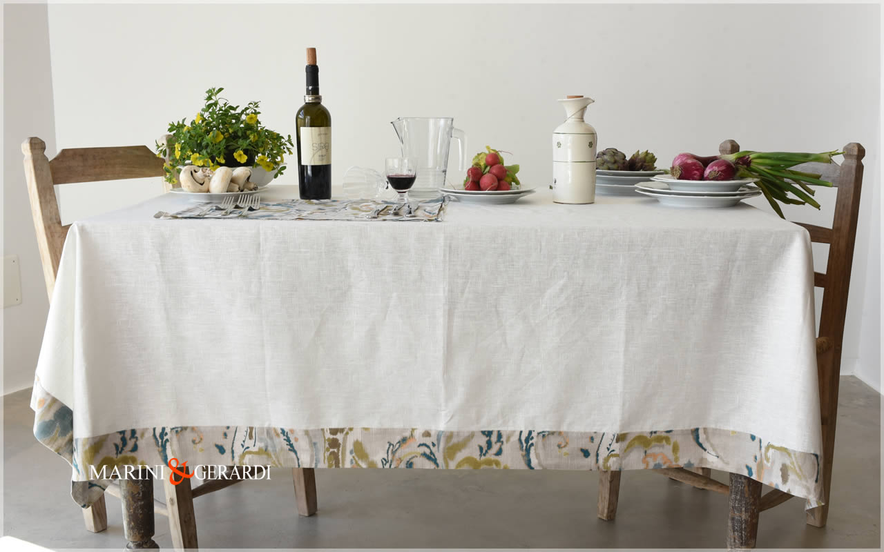 Linen Placemate Tablecloth Table And Kitchen Wares 1