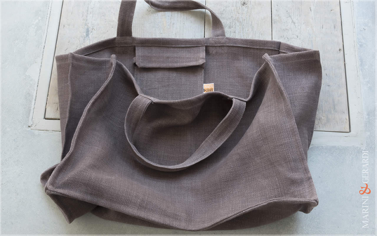 Daily Handbag Yute Canvas Patty Aubergine