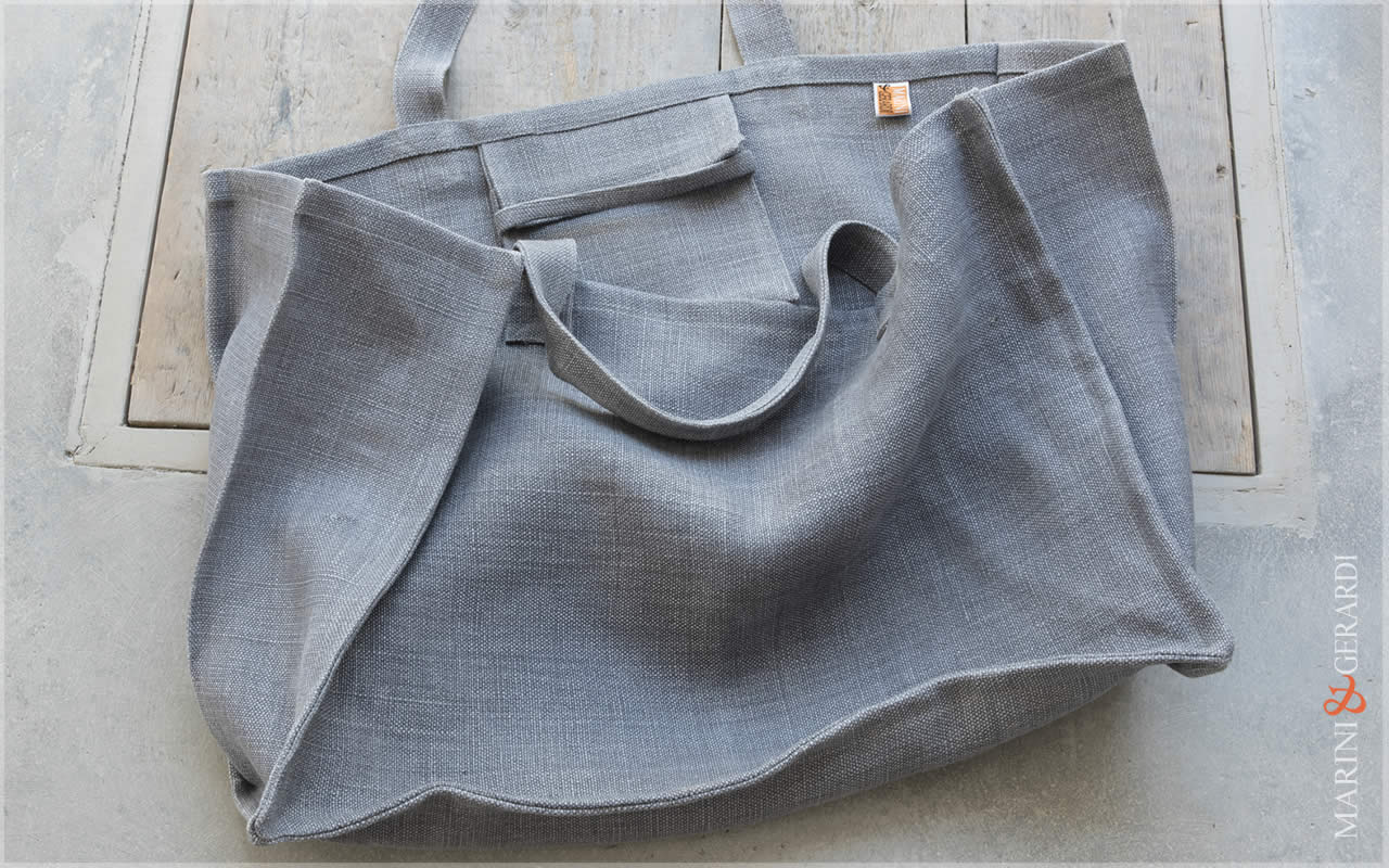 Daily Handbag Yute Canvas Patty Grey
