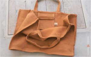 Daily Handbag Yute Canvas Patty Orange