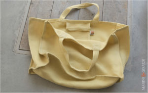 Daily Handbag Yute Canvas Patty Yellow