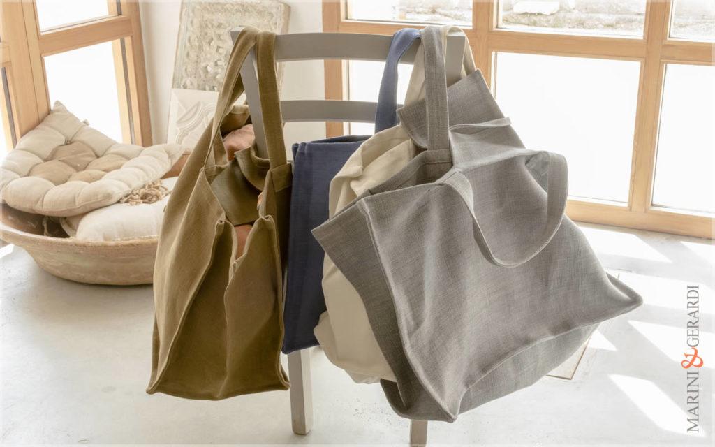 Italian Handbag Stonewashed Yute Patty Colours