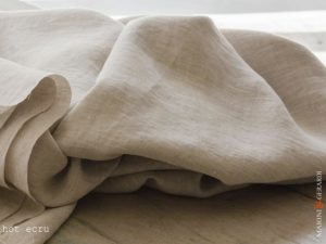 Pure Linen Sheet Hot Ecru Basic Set
