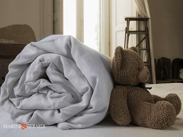 White Bed Pure Linen Duvet Cover Basic Set