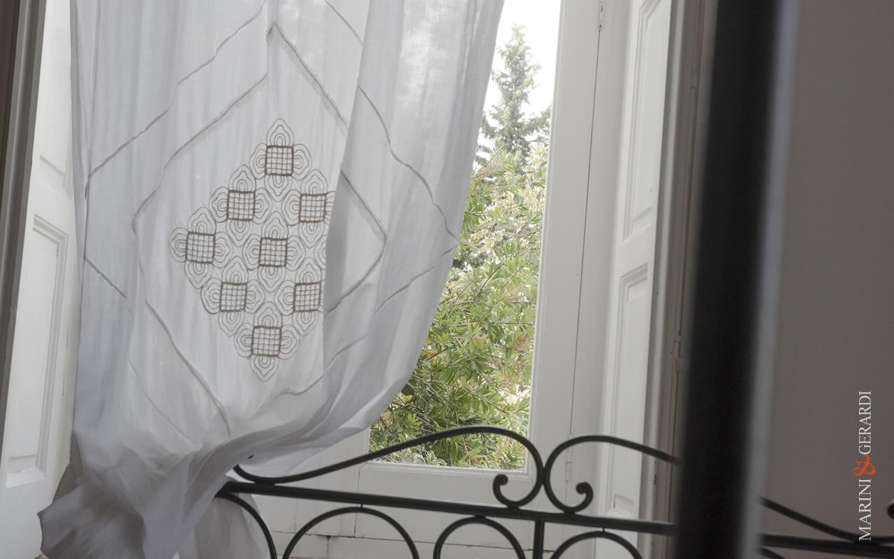 Curtains - Elegant Linen Curtains Wrinkled Fabric Augusta Italian Design