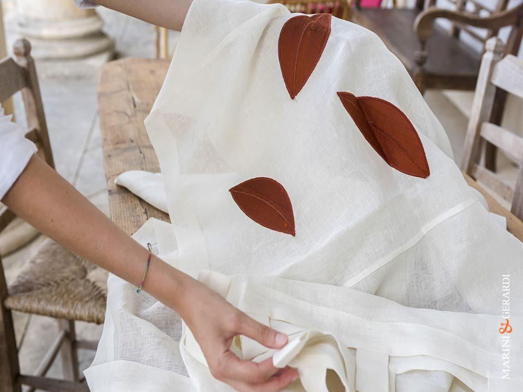 italian-linen-curtain-handcrafted-Greca-leaves
