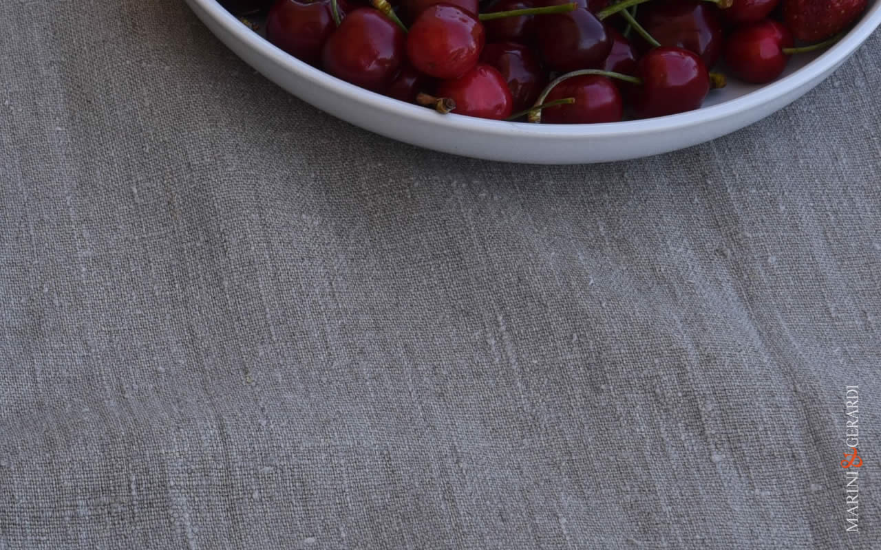 Natural Raw Linen Fabric Naked Rough