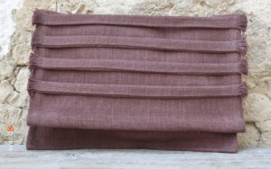 Clutch Bags aubergine color