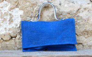 Clutch Bags Blue Color Sofia