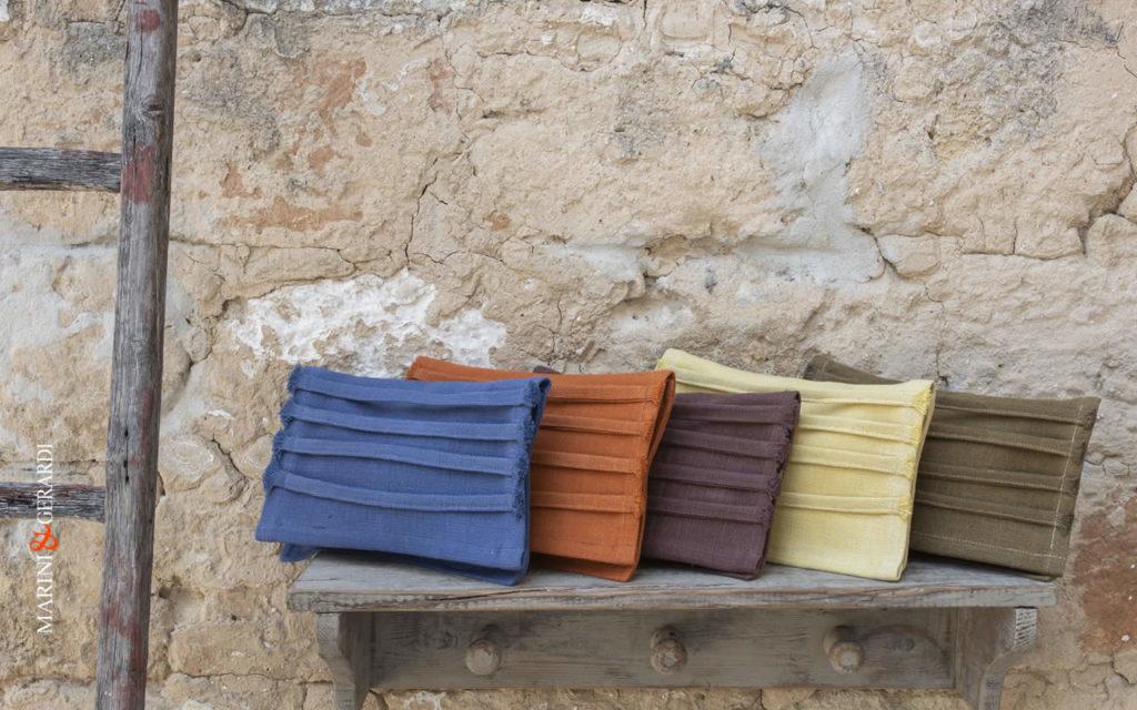 Clutch Bags blue,orange,aubergine,jellow,green color