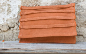 Clutch Bags orange color