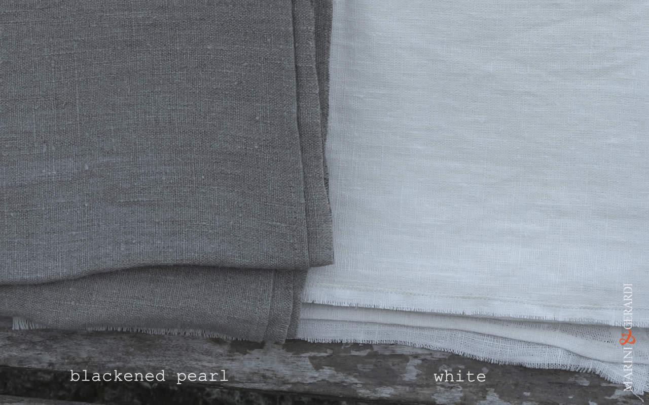 Blackened Pearl + White
