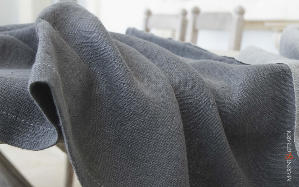 Grey Table Runner Anthracite Colours Amsterdam