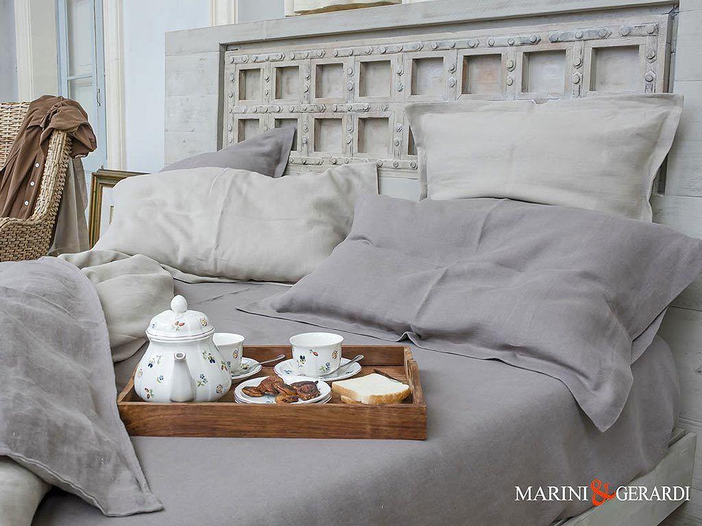 Italian Linen Duvet Cover Sheet Duchess Umbrian Land