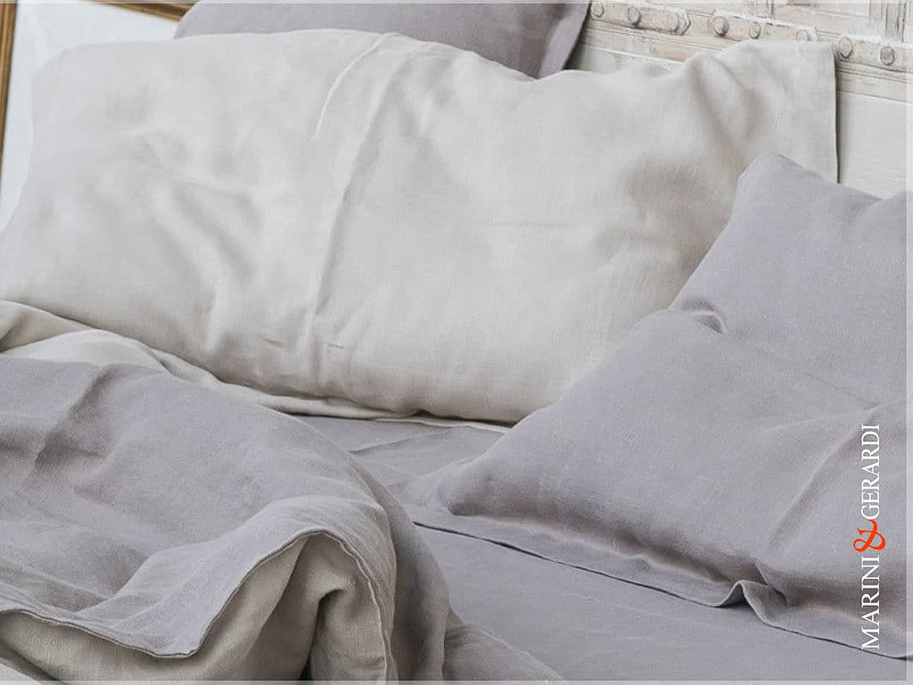 Italian Pure Linen Fabrics For Duvet Cover Pillow