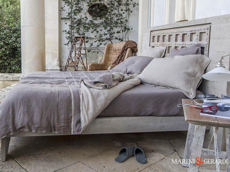 "Handmade Linen Duvet Cover ""The Duchess"""