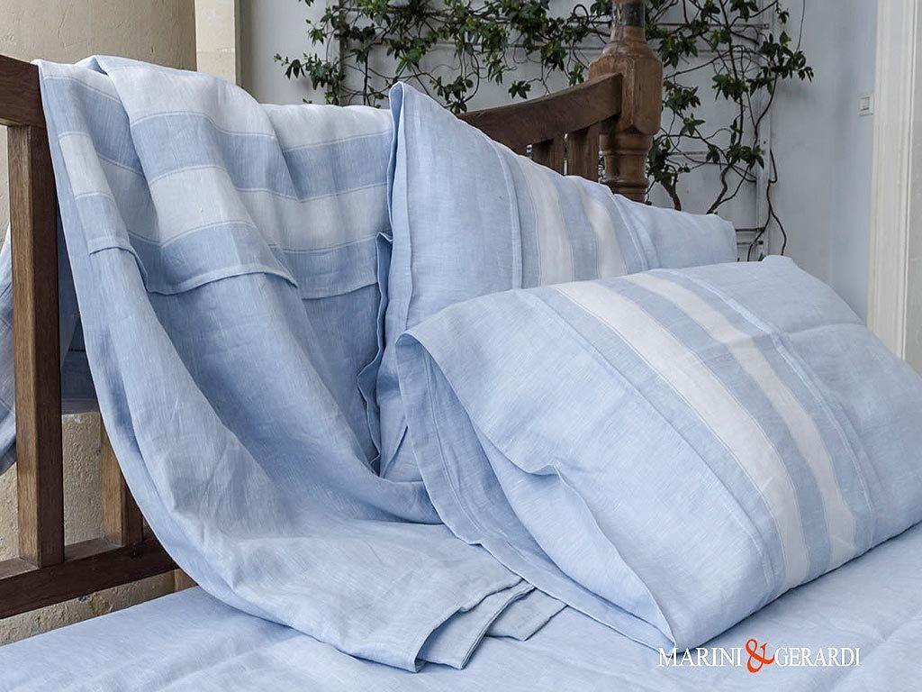 Luxury Bed Linen Duvet Cover Cerulean Blue Pentagram