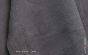 pure linen fabrics for tablecloths duvet cover blackened pearl