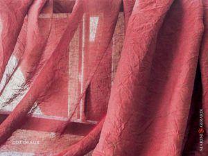 Curtain Linen Colour Bordeaux E03 F