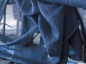 Curtain Linen Colour Jeans C07 FF395