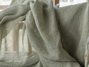 Curtain Linen Colour Light Grass B34 FF395