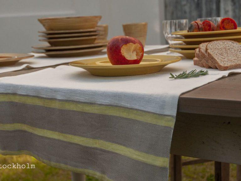 italienische-Leinen-Tisch-Läufer-Plätze-gelb-stockholm
